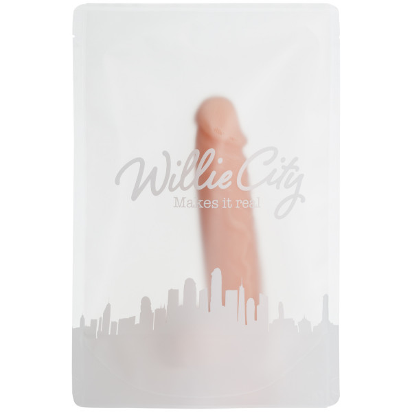 Willie City Luxe Aidonkaltainen Dildo 19,5 cm
