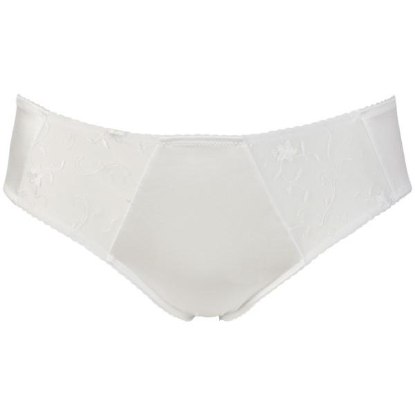 Cottelli Plus Size Valkoiset Pitsialushousut