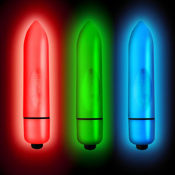 Rocks Off Neon Nights 80mm Bullet Vibraattori tuotekuva 4