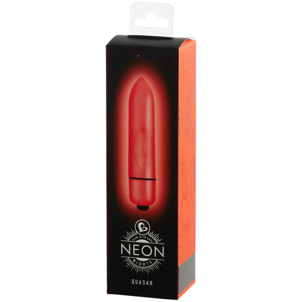 Rocks Off Neon Nights 80mm Bullet Vibraattori kuva tuotepakkauksesta 90