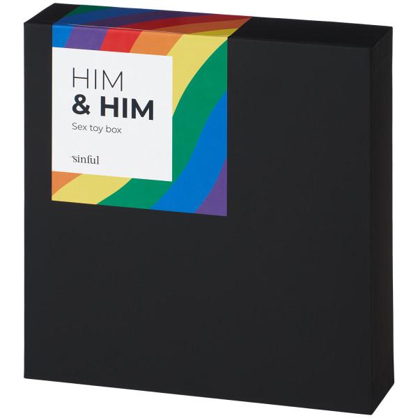 Sinful Him & Him Seksilelupakkaus kuva tuotepakkauksesta 91