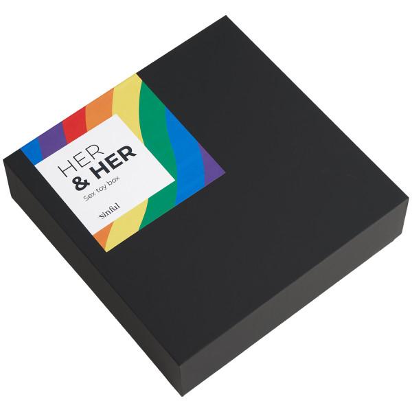Sinful Her & Her Seksilelupakkaus kuva tuotepakkauksesta 90