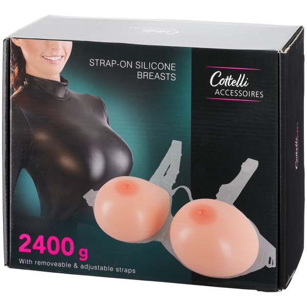 Cottelli Strap-On Silicone Breasts Pack 90