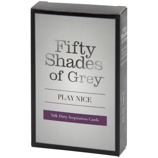 Fifty Shades Of Grey Play Nice Talk Dirty Pelikortit kuva tuotepakkauksesta 90