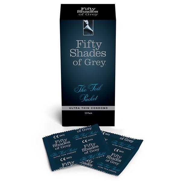 Fifty Shades Ultra Thin Ohuet Kondomit 12 kpl