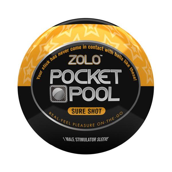 Zolo Pocket Pool Sure Shot Onani Håndjob