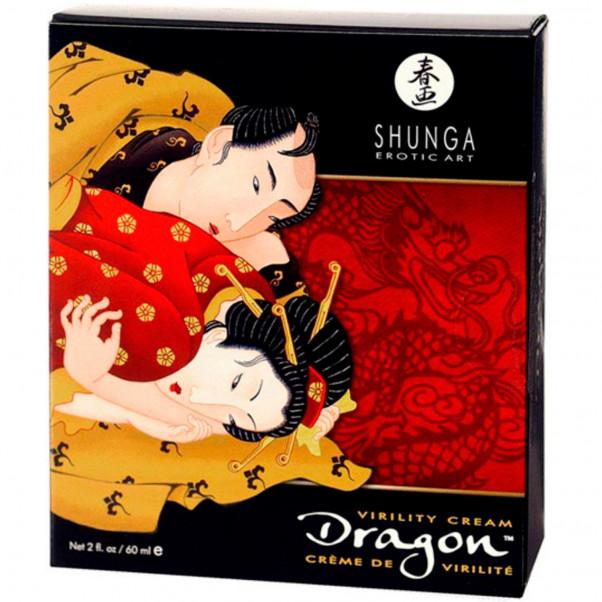 Shunga Dragon Stimuloiva Viivästysvoide 60 ml  2