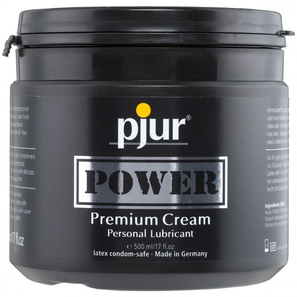 Pjur Power Creme Hybridiliukuvoide 500 ml  1