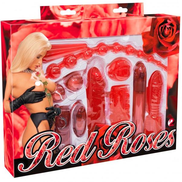 Red Roses 9-osainen Aloittelijan Seksilelusetti  11