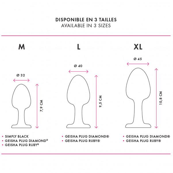 Marc Dorcel Geisha Plug Diamond XL Anustappi  9