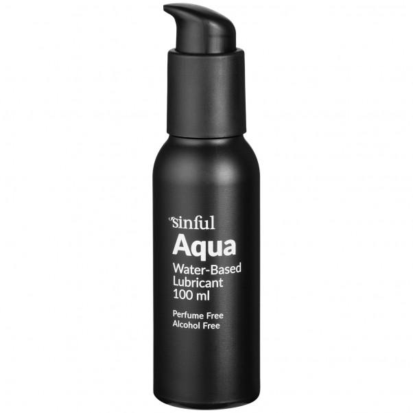 Sinful Aqua Vesipohjainen Liukuvoide 100 ml  1