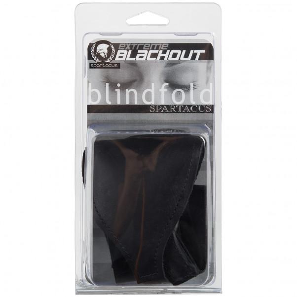 Spartacus Blackout Nahkainen Silmänaamio kuva tuotepakkauksesta 90