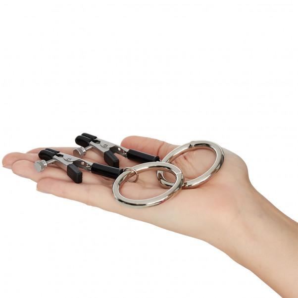 Spartacus Bully Rings Nänninipistimet tuote kädessä 50