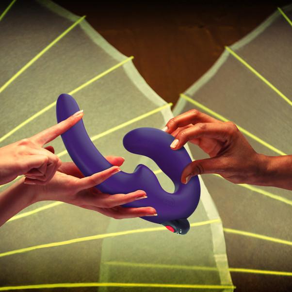 Fun Factory ShareVibe Strap-on Vibraattori kuva tuotepakkauksesta 50