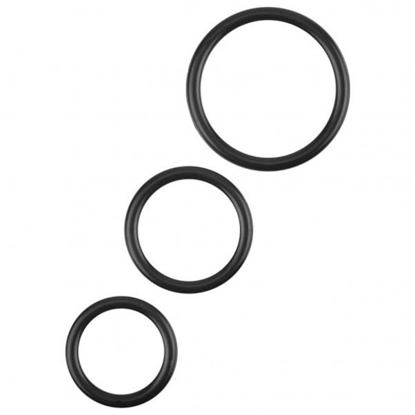Xa Xa Xoom Triple Silikoninen Penisrengassetti  1