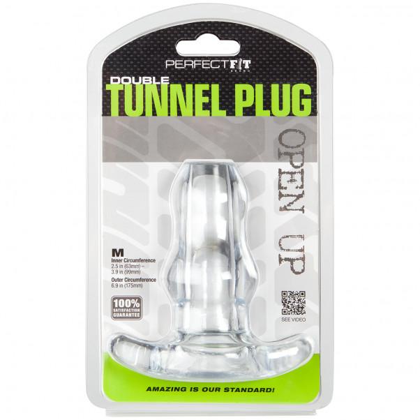 Perfect Fit Double Tunnel Keskikokoinen Ontto Anustappi kuva tuotepakkauksesta 90