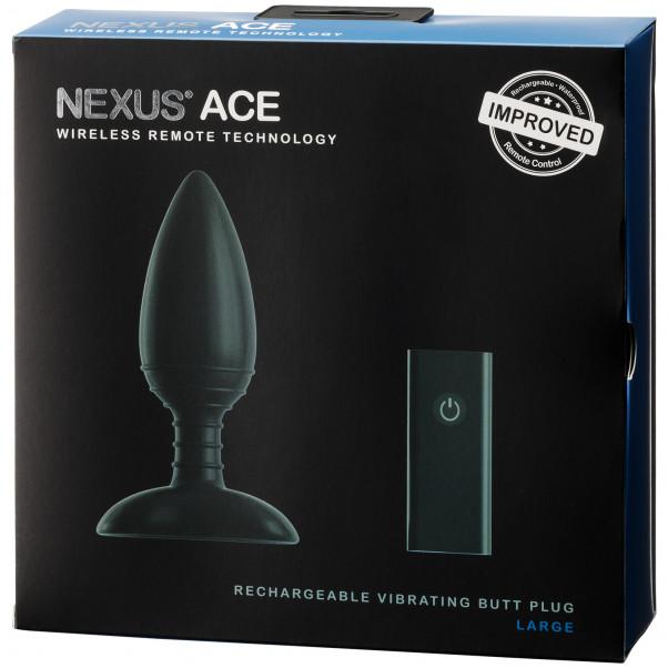 Nexus Ace Ladattava Iso Anaalivibraattori Kaukosäätimellä  100