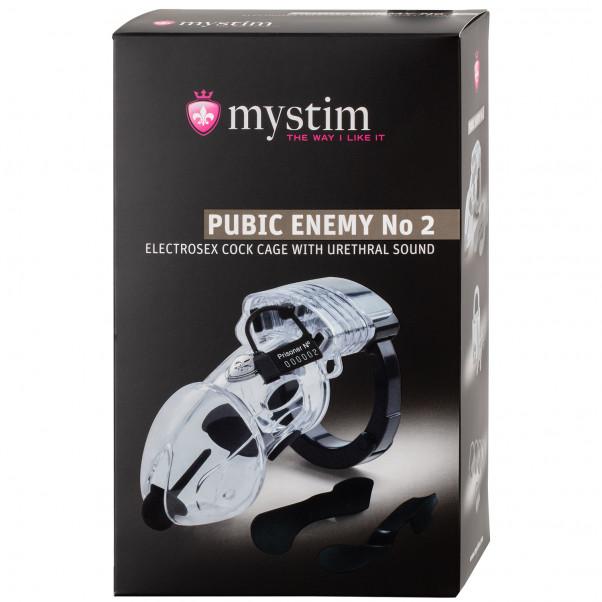 Mystim Pubic Enemy No. 2 Sähkösiveysvyö  100