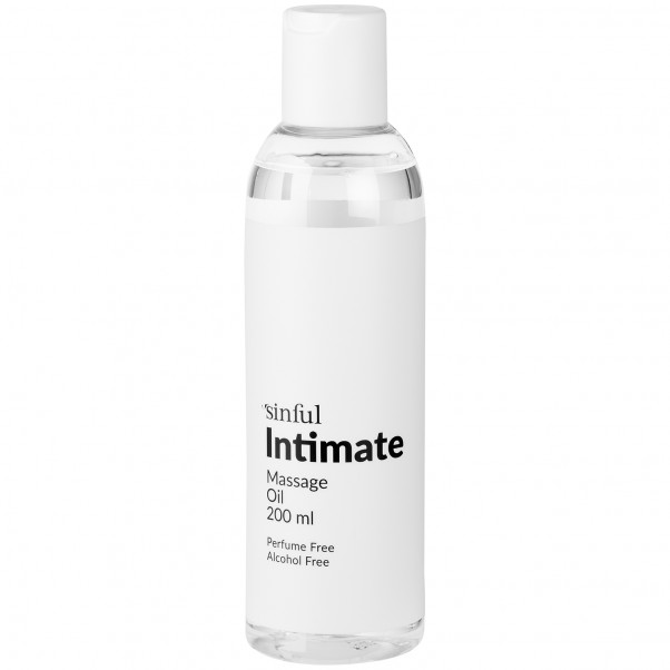 Sinful Intim Massageolie 200 ml  Product 1