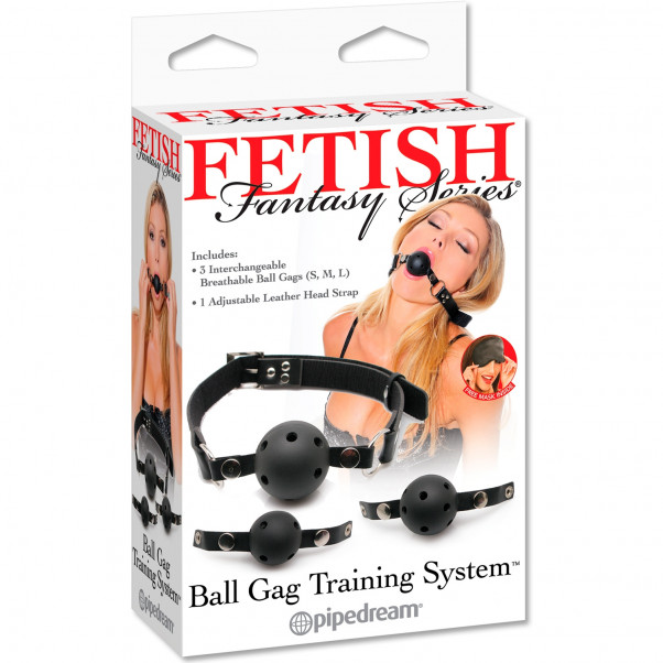 Fetish Fantasy Ball Gag Training Sæt