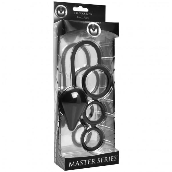 Master Series Triple Threat Penisrengas Anustapilla  10