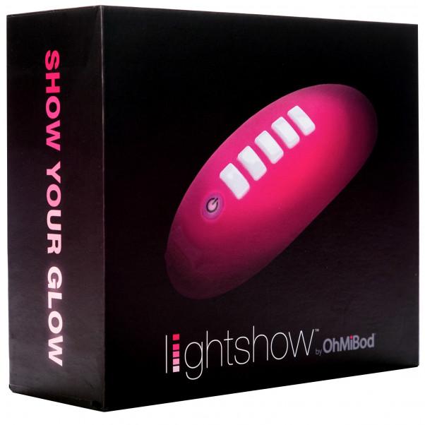 OhMiBod Lightshow Sovelluksella Ohjattava Klitorisvibraattori kuva tuotepakkauksesta 90