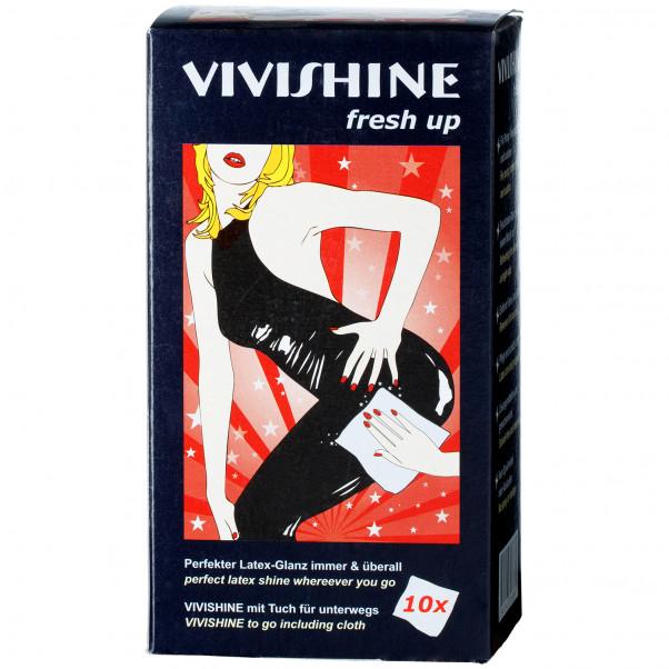 Vivishine Latex Fresh Up Pyyhkeet 10 kpl  100