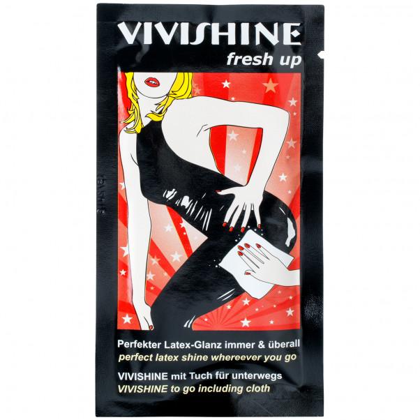 Vivishine Latex Fresh Up Pyyhkeet 10 kpl  1