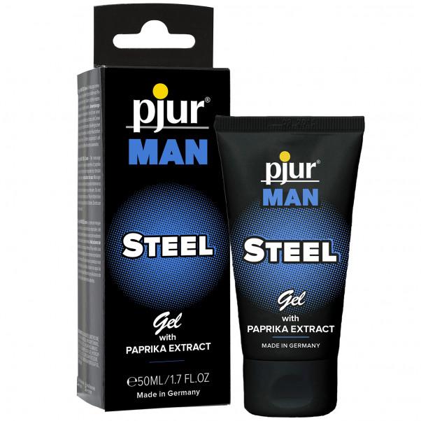 Pjur Man Steel Hierontageeli 50 ml  1