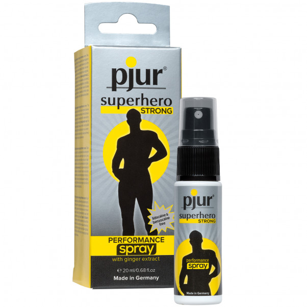 Pjur Superhero Strong Performance Suihke  1