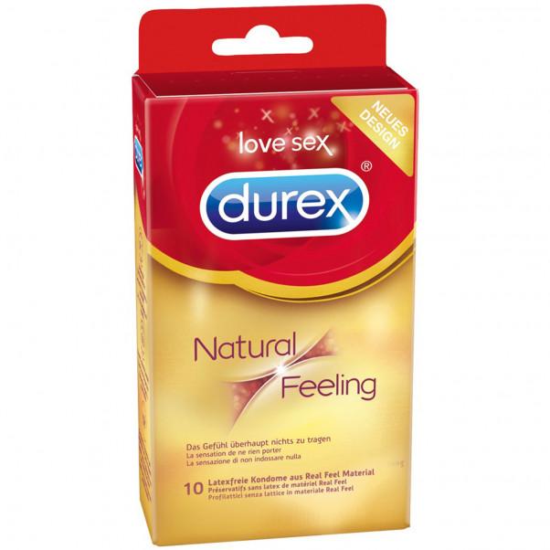 Durex Natural Feeling Lateksittomat Kondomit 10 kpl  1