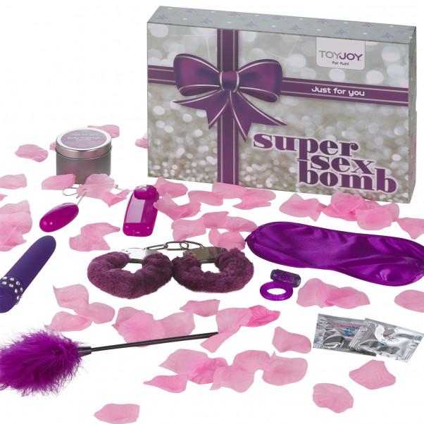 Toy Joy Super Sex Bomb Parisetti kuva tuotepakkauksesta 1