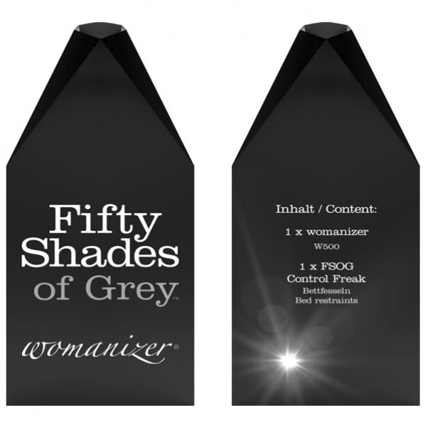 Fifty Shades of Grey Womanizer W500 Lahjapakkaus