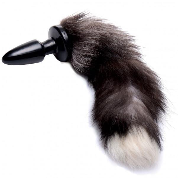 Tailz Grey Fox Tail Anustappi Hännällä  1