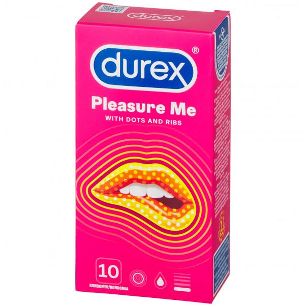 Durex Pleasure Me Kondomit 10 kpl kuva tuotepakkauksesta 90