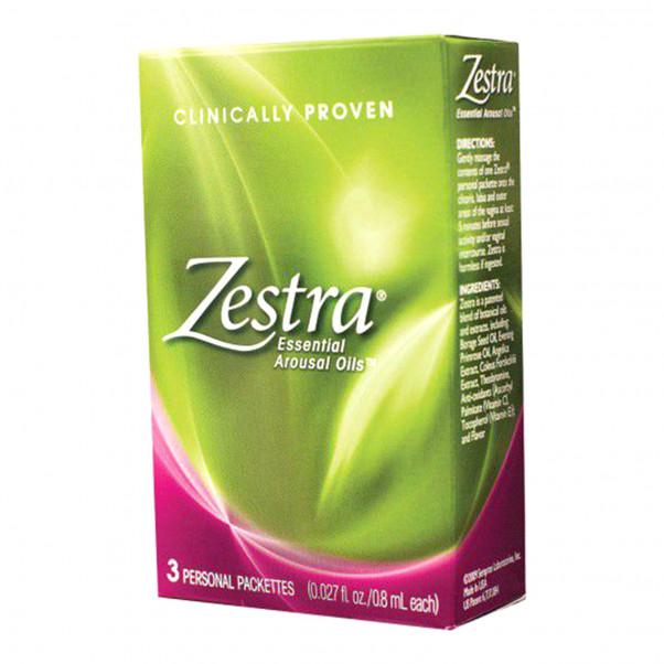 Zestra Klitoriksen Stimulointiöljy 12 ml  2