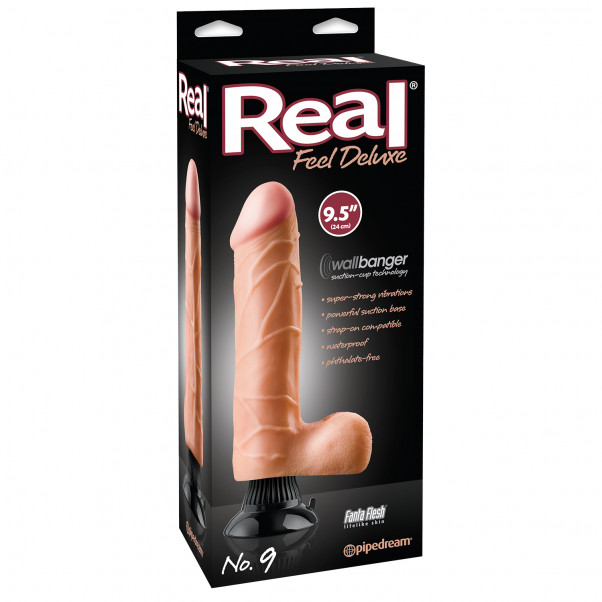 Real Feel Deluxe No. 9 Dildovibraattori 23 cm  10