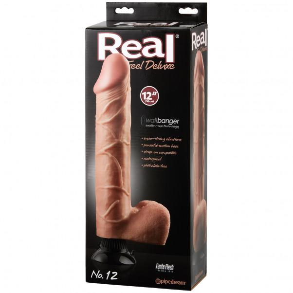 Real Feel Deluxe No. 12 Dildovibraattori 30 cm kuva tuotepakkauksesta 90
