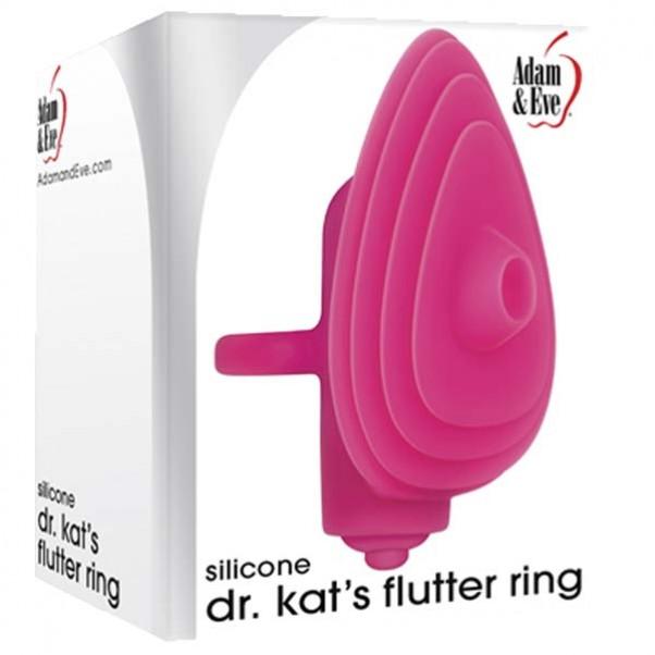 Adam & Eve Dr. Kat's Flutter Ring Sormivibraattori