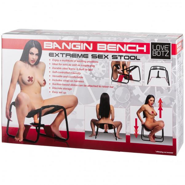 LoveBotz Bangin Bench Extreme Seksituoli kuva tuotepakkauksesta 90