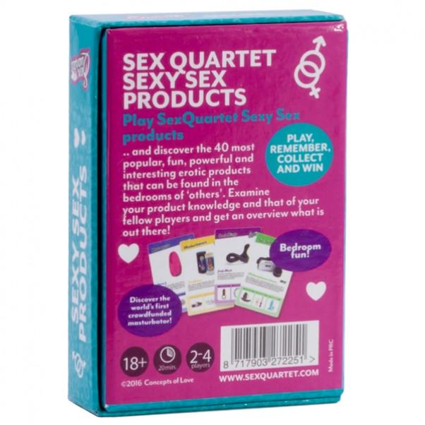 Sex Quartet Sexy Products Pelikortit