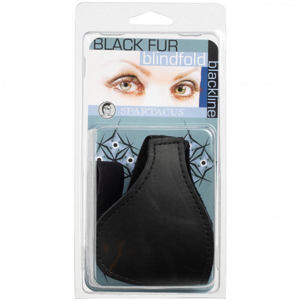 Spartacus Nahkainen Silmänaamio Tekoturkiksella kuva tuotepakkauksesta 90