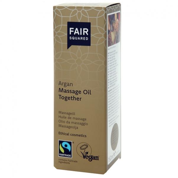 Fair Squared Vegaaninen Arganhierontaöljy 150 ml