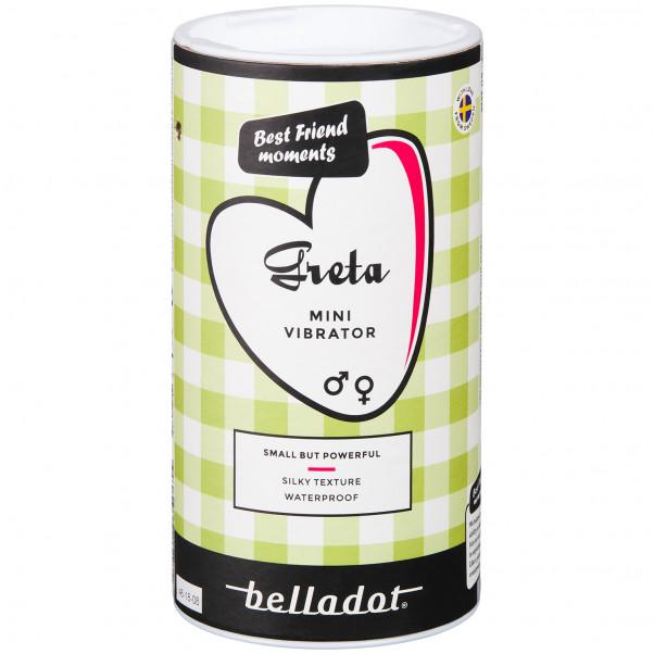 Belladot Greta Minivibraattori kuva tuotepakkauksesta 90