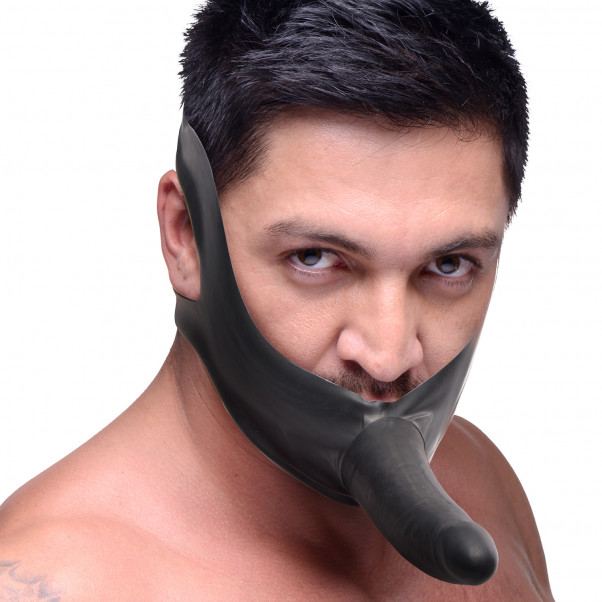 Master Series Face Fuk Strap-on Gag  4