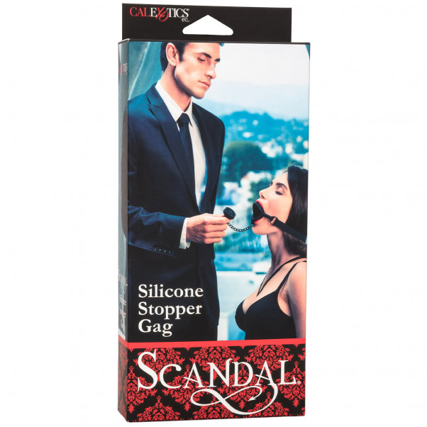 Scandal Silicone Stopper Gag  3
