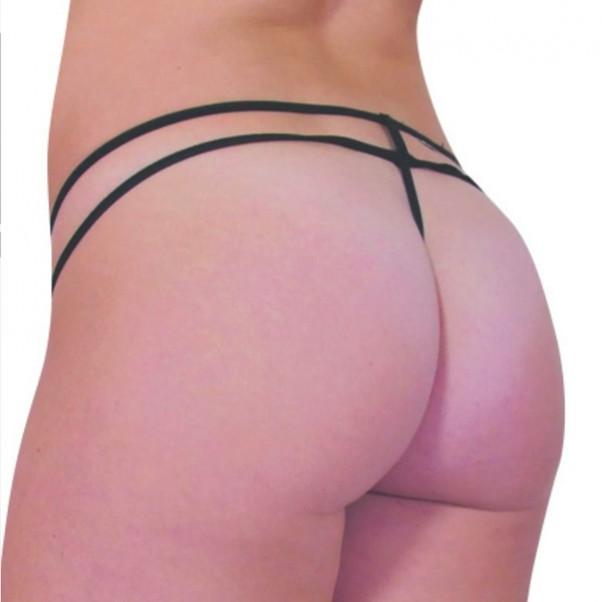 Baci Mesh Double Strap Stringit