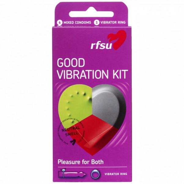 RFSU Good Vibration Kondomit 6 kpl  1