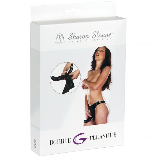 Sharon Sloane Lateksialushousut Tupladildolla
