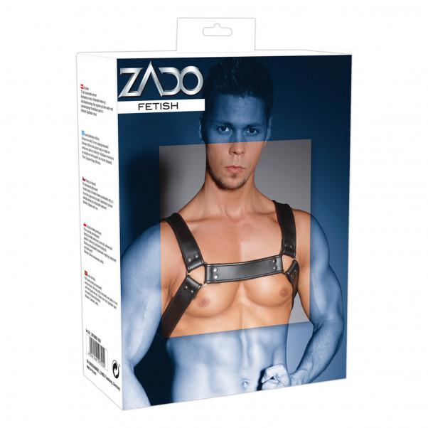 Zado Nahkainen Miesten Chest Harness  2
